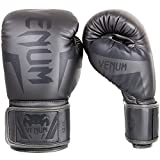 Venum Elite Boxing Gloves - Grey/Grey - 16oz, 16 oz