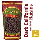 Dark California Raisins - Bulk - 5 Pounds - We Got Nuts