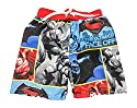 DC Comics Batman Vs Superman Boys Dawn Of Justice Swim Trunks Photo Shot