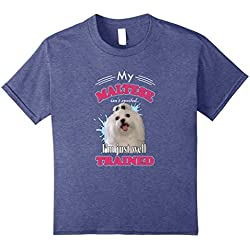 Maltese Dogs Lover T-Shirt I Love Maltese Dogs Fans Gift