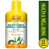 Country Life - Food Based Liquid Multivitamin and Mineral Complex - Natural Mango Flavor, 32 Ounce