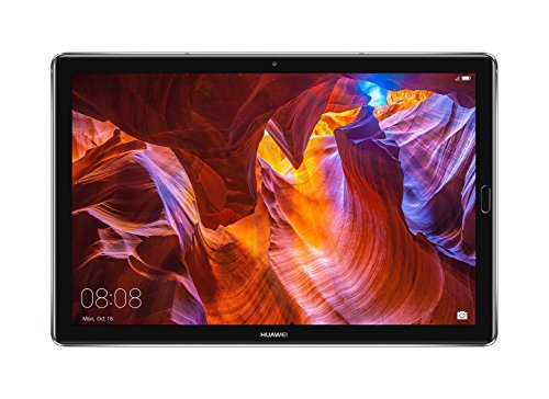Huawei MediaPad M5 Android Tablet with 10.8' 2.5D Display, Octa Core, Quick Charge, Quad Harman Kardon-Tuned Speakers, WiFi Only, 4GB+64GB, Space Gray (US Warranty)