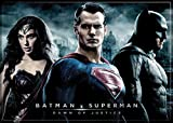 "Ata-Boy Batman v Superman Dawn of Justice Superheroes 2.5"" x 3.5"" Magnet for Refrigerators and Lockers"