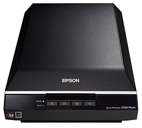 Epson Perfection V550 Color Photo, Image, Film, Negative & Document Scanner with 6400 dpi optical resolution