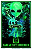 Take Me To Your Dealer College Blacklight Poster 24 x 36in