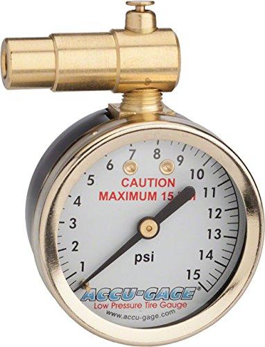 Meiser Presta-Valve Dial Gauge 15 PSI