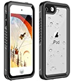 AJIA iPod 5 iPod 6 iPod 7 Waterproof Case, 2019 New Shockproof Dirtproof Snowproof Full-Body Protective Case Cover Built-in Screen Protector Compatible iPod Touch 5th/6th/7th