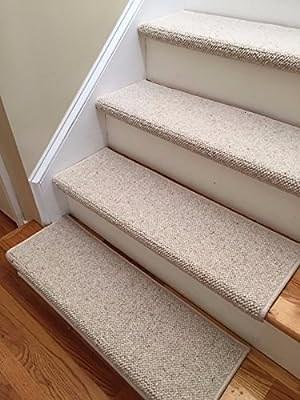 Amazon Com Alfa 100 Wool Authentic Handmade True Bullnose Padded | Stair Treads And Runners | Non Slip | Mat | Treads Carpet | Bullnose Carpet Runners | Staircase
