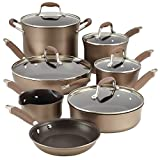 Anolon Advanced Bronze Hard-Anodized Nonstick 12-Piece Cookware Set
