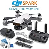 DJI Spark Quadcopter & Remote Controller Combo (Alpine White)