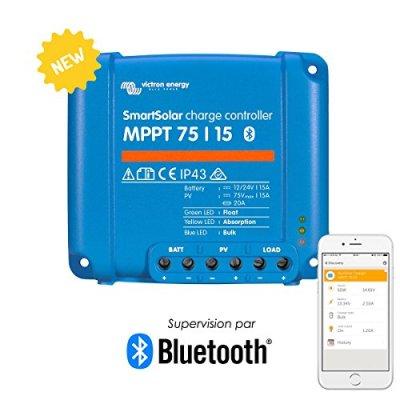 Victron-SmartSolar-MPPT-Laderegler-7515-12V-24V-15A-Solarladeregler-Bluetooth-integriert