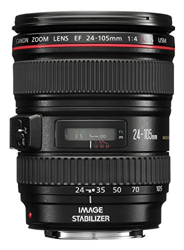 Canon EF 24-105mm f/4L IS USM Zoom Lens – White Box (New) (Bulk Packaging)