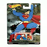 VOLKSWAGEN T1 PANEL * SUPERMAN * Hot Wheels 2016 Pop Culture Batman / Superman Series Die-Cast Vehicle
