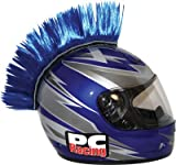Pcracing pchmblue helmet mohawk (blue) (PCHMBLUE)