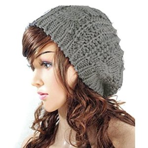 JOVANA New Arrival Top Fashion Winter Warm Women Lady Yong Girls Baggy Beret Chunky Knit Knitted Braided Beanie Hat Ski…