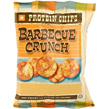 HealthSmart - Barbecue Crunch Protein Diet Chips - High Protein - Low Calorie - Low Fat - Low Carb - High Fiber - Healthy Weight Loss Chips (7 Bags)
