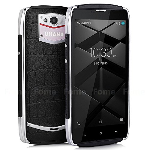 UHANS U200,Cellphone 5.0inch Android 5.1 4G FDD-LTE 64bit MTK6735 Quad Core 2GB+16GB 13.0MP 3500mAh Zinc Alloy Frame Miracast OTG Smart Wake Hotknot Smartphone