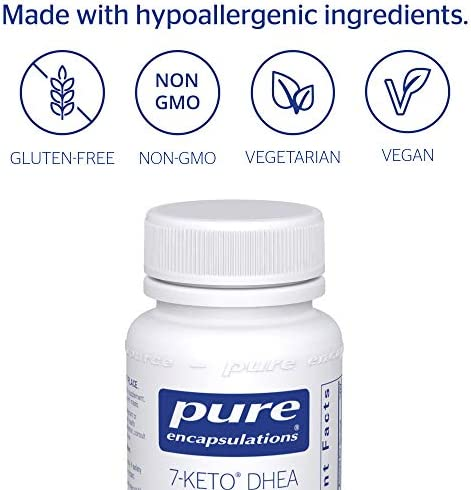 Pure Encapsulations - 7-Keto DHEA 100 mg - Unique DHEA Metabolite to Support Thermogenesis and Healthy Body Composition - 60 Capsules 6