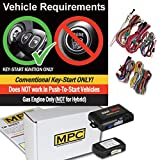 MPC Complete OEM Remote Activated Remote Start Kit for 2014-2017 Nissan Versa Note - Includes Bypass - Firmware Preloaded
