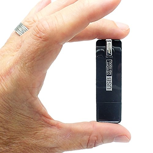 140 hour Professional Voice Activated Digital Spy Recorder | Easily Hidden & Discreet | Covert HD Audio Recording / Listening Device / 'Bug' | 25 Day stby Battery