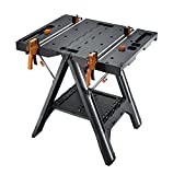 WORX Pegasus Multi-Function Work Table and Sawhorse with Quick Clamps and Holding Pegs - WX051