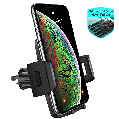 Air Vent Car Phone Mount,Miracase Universal Vehicle Cell Phone Holder for Car with 360 Degrees Rotation Compatible for iPhone Xs/Xs Max/XR/X/8/8 Plus/7/7 Plus, Galaxy S10/S10+/S9/S9+ and More