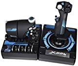 Logitech Saitek Pro X-56 Rhino H.O.T.A.S. Video Game Flight Controller for PC (Certified Refurb)