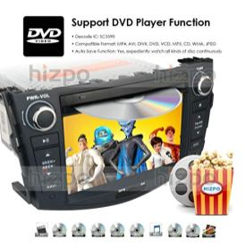Android-10-Car-GPS-Unit-Radio-DVD-Player-for-Toyota-RAV4-2006-2007-2008-2009-2010-2011-2012-Touch-Screen-GPS-DVD-Navigation-Radio-Bluetooth-Hands-with-Free-Backup-Camera
