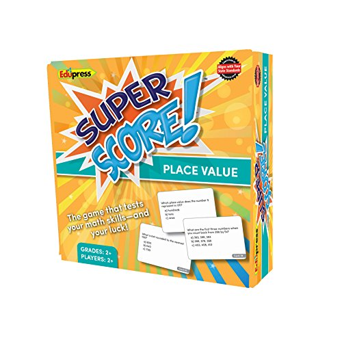 Super Score Game, Place Value, Grades 2-3