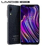 UMIDIGI Mobile One 5.9' 32GB(256GB Expandable) Unlocked Android 8.1 Cell Phone - 4GB Ram Dual-SIM 4G LTE - 16MP Selfie,12MP +5MP Dual Camera - 3550mAh Battery,Side Fingerprint ID Smartphones (Black)