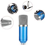 Neewer-NW-700-Studio-Condenser-Microphone-Set-Including-NW-700-Condenser-Microphone-Metal-Microphone-Shock-Mount-Ball-type-Foam-Cap-Audio-Cable-for-Broadcasting-Voice-Recording