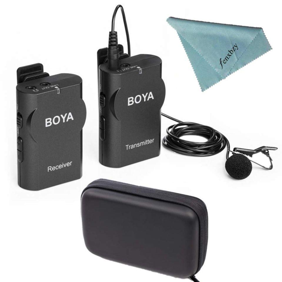 Boya BY-WM4 Wireless Lavalier Microphone System