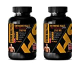 Male Enhancing Pills Increase Size and Girth - Extreme Male Enhancement Pills - tongkat Ali Root Extract - 2 Bottles 120 Tablets