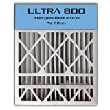 24x25x4/24x25x5 (23.8'x24.8'x4.3') ULTRA 800 MERV 8 Bryant Replacement Air Filter (2-Pack)