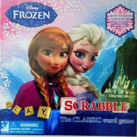 Disney Frozen Scrabble 2 Sided Board