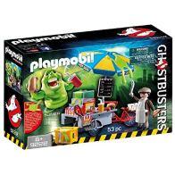 Playmobil Slimer con Stand de Hot Dog