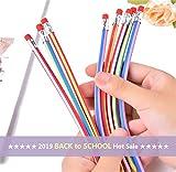 Sameno Twistable Pencils  5/15/30/60 pcs Colorful Magic Flexible Soft Pencil Erasable Writing Pencils Bulk Back to School Gift for Kids
