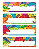 Trend Enterprises Inc. Dino-Mite Pals Desk Toppers Name Plates VAR. Pk., 32 ct