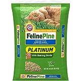 Feline Pine Platinum Cat Litter, with Baking Soda, 40 lb