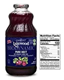 Lakewood Biodynamic Organic Pure Beet Juice, Fresh Pressed (32 oz, 6 pack)