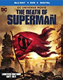 DCU: The Death of Superman Limited Edition (Blu-Ray+DVD+Digital0 with Exclusive Hardcover 96-Page Graphic Novel