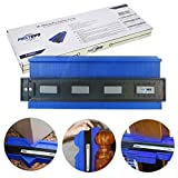 FIRSTINFO Profile Contour Gauge Shape Duplicator with Powerful Magnet for Completely Fit and Easily Cutting Works (10 Inch)