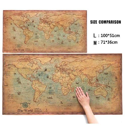 Choose size the old navigation world map huge large vintage style choose size the old navigation world map huge gumiabroncs Images
