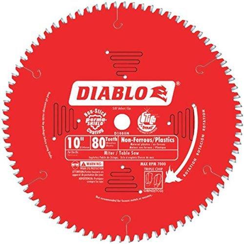 Diablo D1080N Non-Ferrous Metal and Plastic Cutting Saw Blade