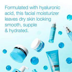 Neutrogena Hydro Boost Hyaluronic Acid Hydrating Gel-Cream Face Moisturizer to Hydrate & Smooth Extra-Dry Skin