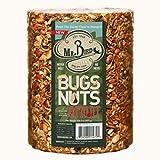 Mr. Bird Wild Bird Seed Large Cylinder Bugs, Nuts & Fruit 4 lbs. 2 oz.