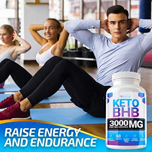 Keto Pills - (2 Pack | 120 Capsules) - 5X Potent - Advanced Keto Burn Diet Pills - Best Exogenous Ketones BHB Supplement for Women and Men - Boost Energy and Metabolism - 100% Vegan 7