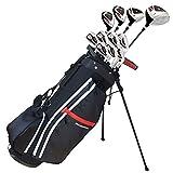 Prosimmon Golf X9 V2 Tall +1' Mens Graphite/Steel Golf Club Set & Bag - Stiff Flex