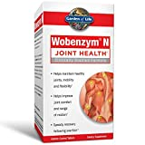 Garden of Life Joint Support Supplement - Wobenzym N Systemic Enzymes, 800 Tablets