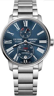 Ulysse Nardin Marine Chronometer Torpilleur Mens Watch 1183-310-7M/43